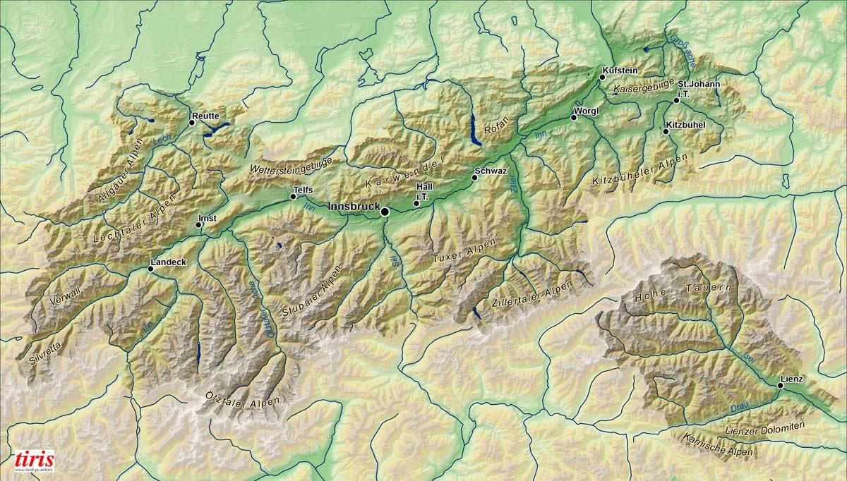 Tirol: Land im Gebirge