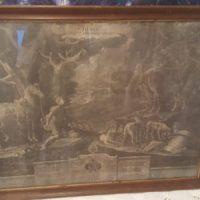 """Bild """"S. Hubertus Ordinis Venatorii Patronus"""""""