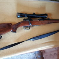 Repetiergewehr Mauser mit Zielfernrohr