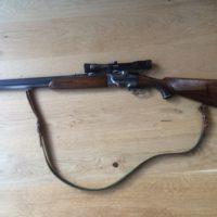 Bockbüchsflinte + Zielfernrohr + Munition