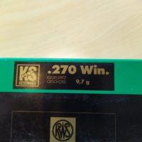 RWS Munition 270WIN KS 9,7g